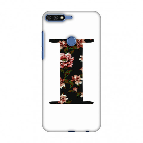 Floral Fill - I Slim Hard Shell Case For Huawei Honor 7C