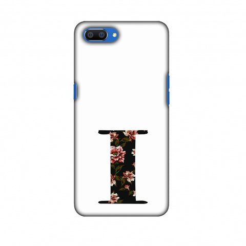 Floral Fill - I Slim Hard Shell Case For Oppo Realme C1