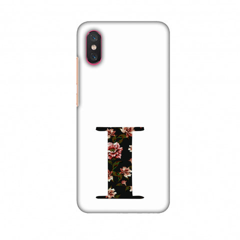 Floral Fill - I Slim Hard Shell Case For Xiaomi Mi 8 Pro