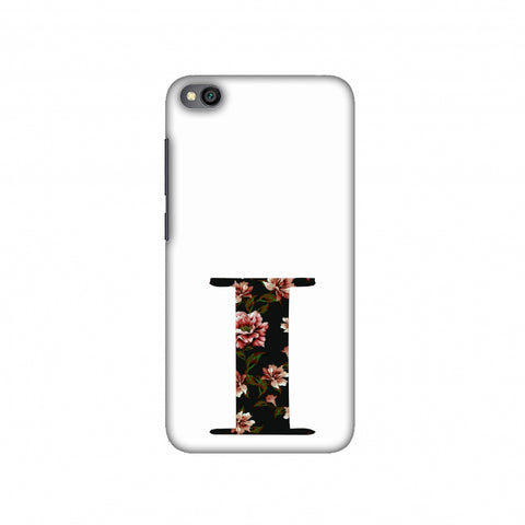 Floral Fill- I Slim Hard Shell Case For Redmi Go