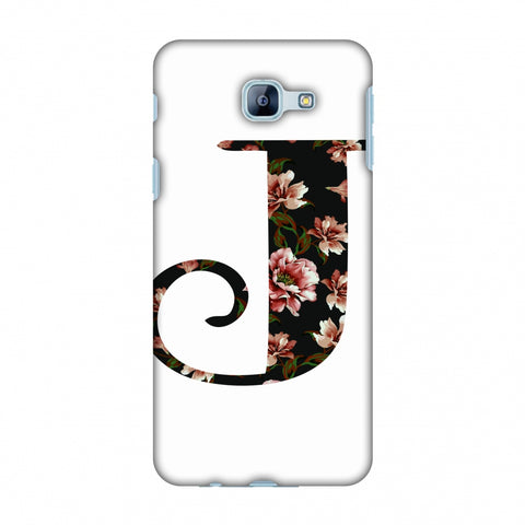 Floral Fill - J Slim Hard Shell Case For Samsung Galaxy A8 2016