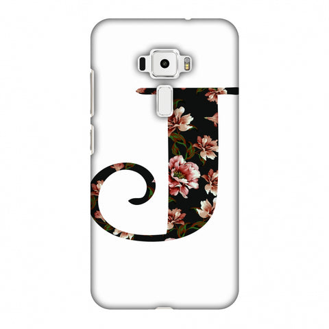 Floral Fill - J Slim Hard Shell Case For Asus Zenfone 3 ZE520KL