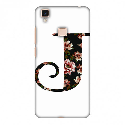 Floral Fill - J Slim Hard Shell Case For Vivo V3 Max