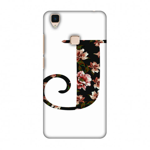 Floral Fill - J Slim Hard Shell Case For Vivo V3