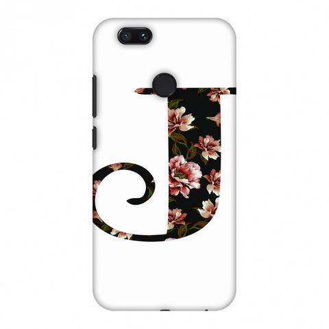 Floral Fill - J Slim Hard Shell Case For Xiaomi MI A1-5X