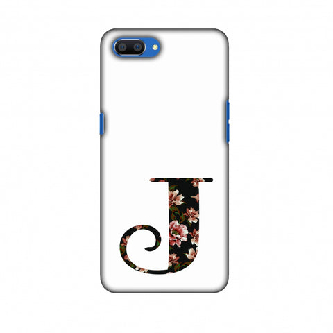 Floral Fill - J Slim Hard Shell Case For Oppo Realme C1