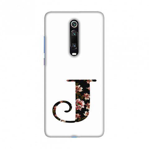 Floral Fill- J Slim Hard Shell Case For Redmi K20/K20 Pro