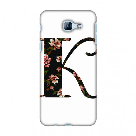 Floral Fill - K Slim Hard Shell Case For Samsung Galaxy A8 2016