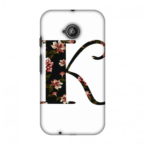Floral Fill - K Slim Hard Shell Case For Motorola Moto E 2nd Gen