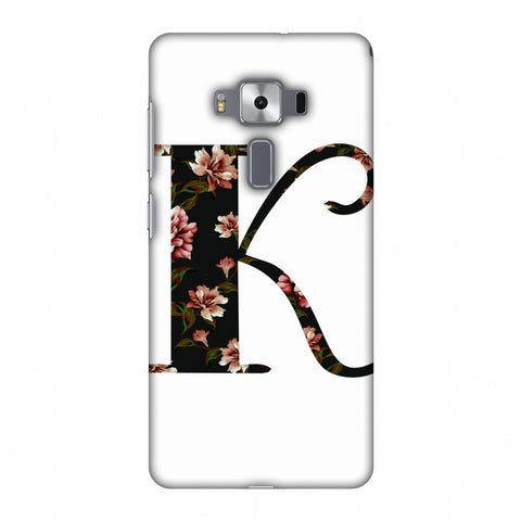 Floral Fill - K Slim Hard Shell Case For Asus Zenfone 3 Deluxe ZS570KL