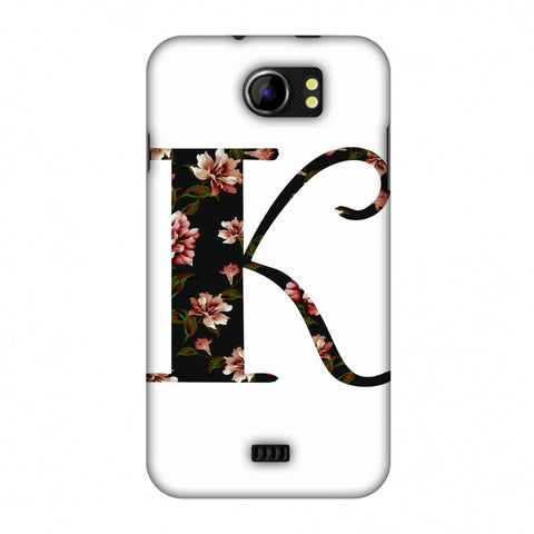 Floral Fill - K Slim Hard Shell Case For Micromax Canvas 2 A110