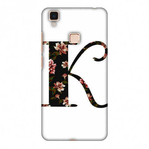 Floral Fill - K Slim Hard Shell Case For Vivo V3 Max