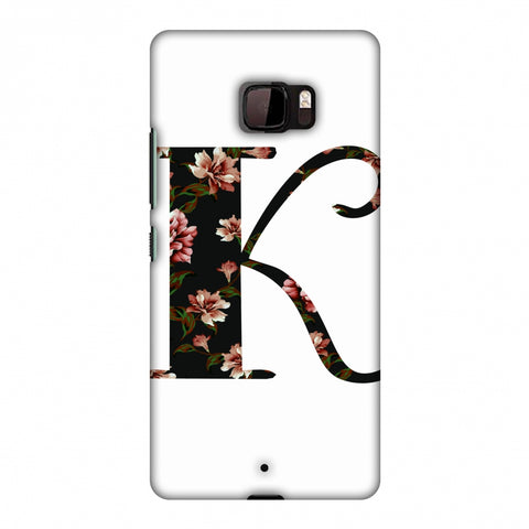 Floral Fill - K Slim Hard Shell Case For HTC U Ultra