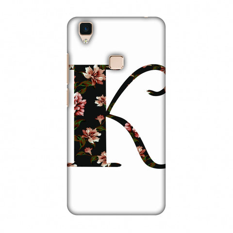 Floral Fill - K Slim Hard Shell Case For Vivo V3