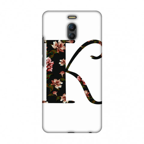 Floral Fill - K Slim Hard Shell Case For Meizu Note 6