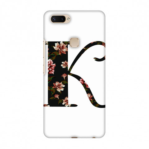 Floral Fill - K Slim Hard Shell Case For Vivo X20 Plus