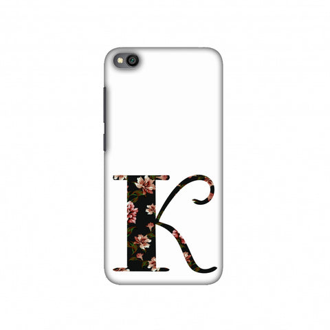 Floral Fill- K Slim Hard Shell Case For Redmi Go