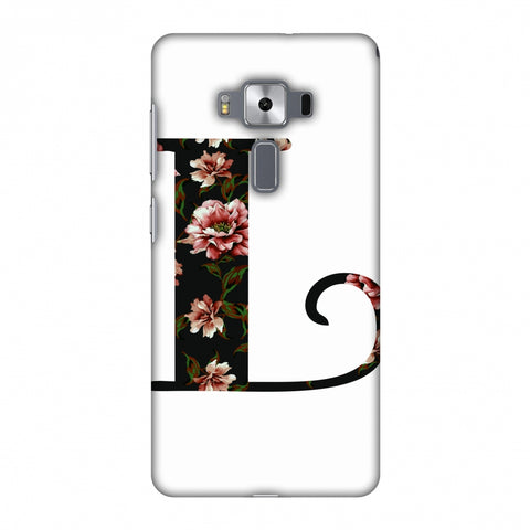 Floral Fill - L Slim Hard Shell Case For Asus Zenfone 3 Deluxe ZS570KL