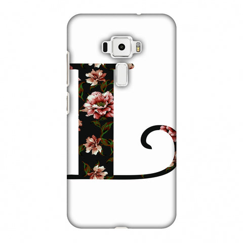 Floral Fill - L Slim Hard Shell Case For Asus Zenfone 3 ZE520KL