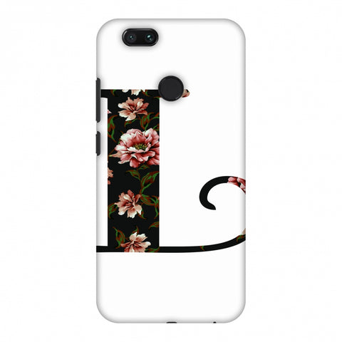 Floral Fill - L Slim Hard Shell Case For Xiaomi MI A1-5X