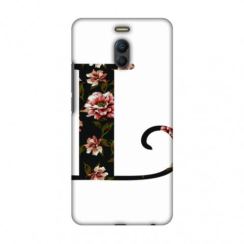 Floral Fill - L Slim Hard Shell Case For Meizu Note 6