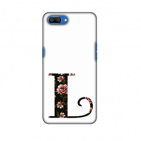 Floral Fill - L Slim Hard Shell Case For Oppo Realme C1