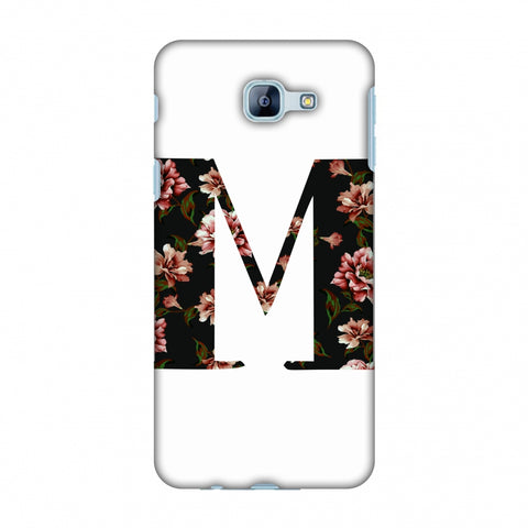 Floral Fill - M Slim Hard Shell Case For Samsung Galaxy A8 2016