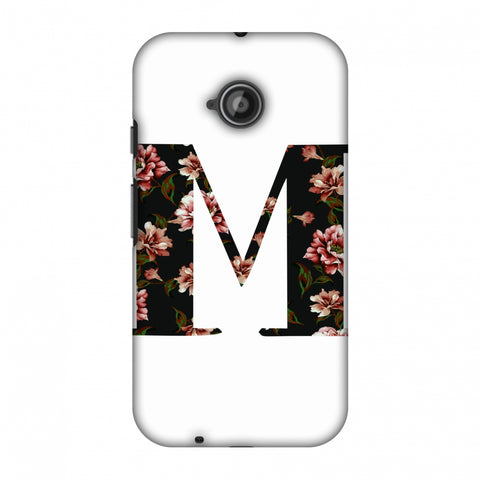 Floral Fill - M Slim Hard Shell Case For Motorola Moto E 2nd Gen