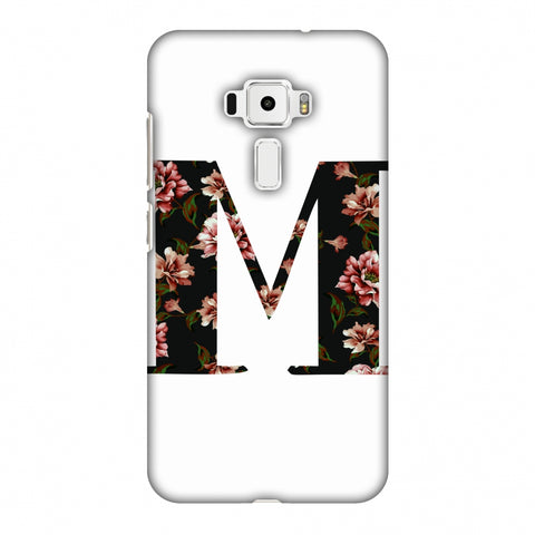 Floral Fill - M Slim Hard Shell Case For Asus Zenfone 3 ZE520KL