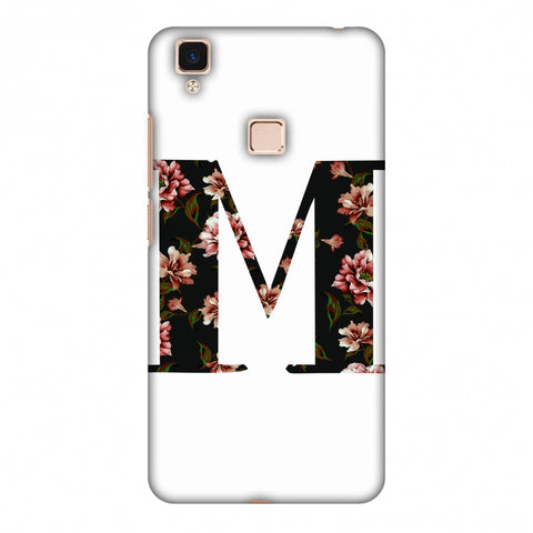 Floral Fill - M Slim Hard Shell Case For Vivo V3 Max