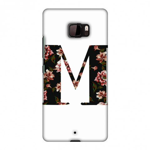 Floral Fill - M Slim Hard Shell Case For HTC U Ultra
