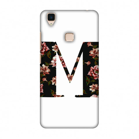 Floral Fill - M Slim Hard Shell Case For Vivo V3