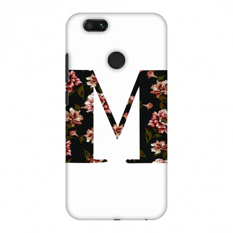 Floral Fill - M Slim Hard Shell Case For Xiaomi MI A1-5X