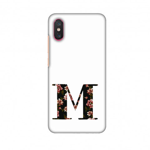 Floral Fill - M Slim Hard Shell Case For Xiaomi Mi 8 Pro