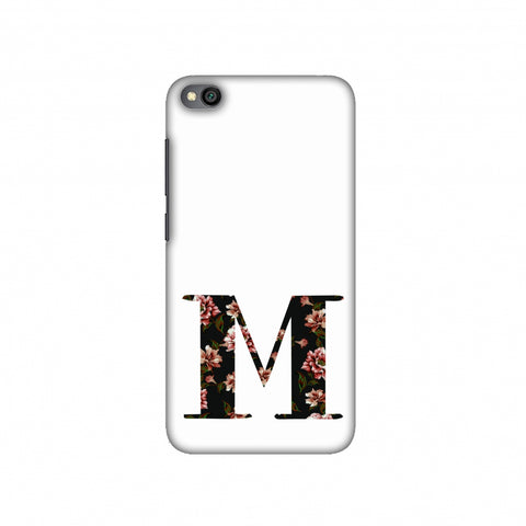 Floral Fill- M Slim Hard Shell Case For Redmi Go