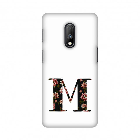 Floral Fill- M Slim Hard Shell Case For OnePlus 7