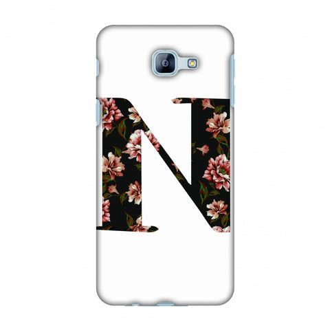 Floral Fill - N Slim Hard Shell Case For Samsung Galaxy A8 2016