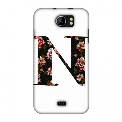 Floral Fill - N Slim Hard Shell Case For Micromax Canvas 2 A110