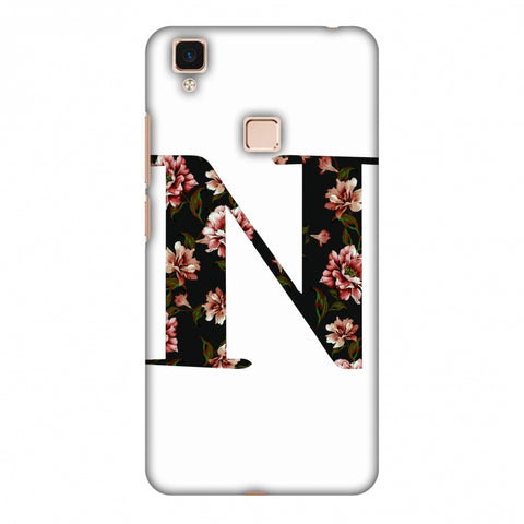 Floral Fill - N Slim Hard Shell Case For Vivo V3 Max