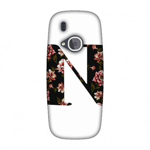 Floral Fill - N Slim Hard Shell Case For Nokia 3310