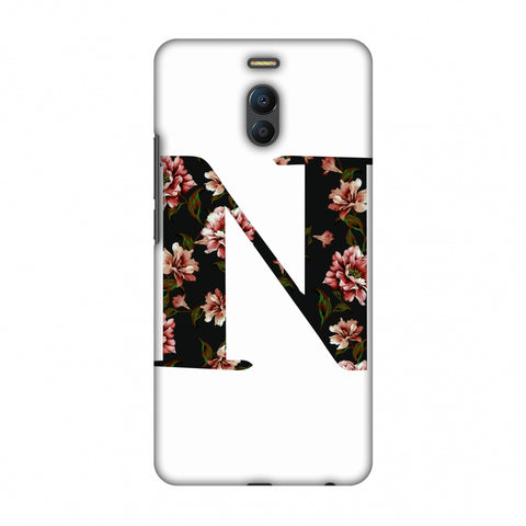 Floral Fill - N Slim Hard Shell Case For Meizu Note 6
