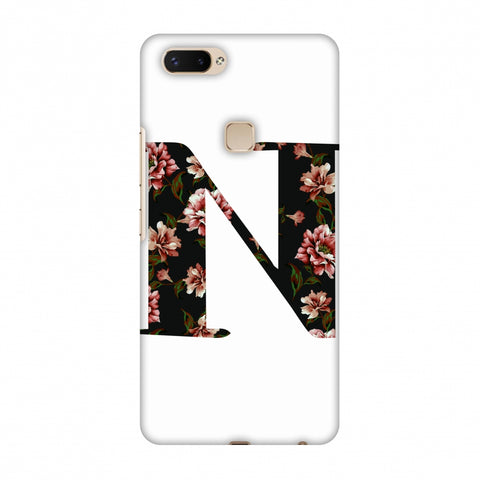 Floral Fill - N Slim Hard Shell Case For Vivo X20 Plus