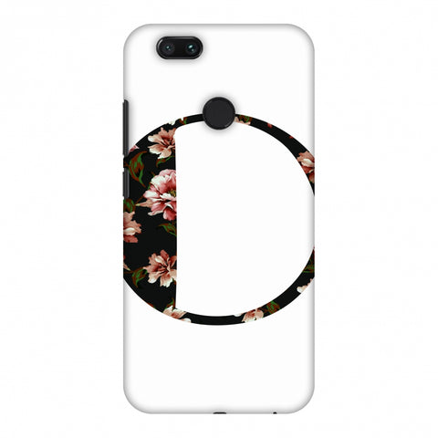 Floral Fill - O Slim Hard Shell Case For Xiaomi MI A1-5X
