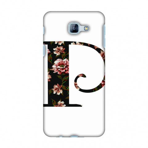 Floral Fill - P Slim Hard Shell Case For Samsung Galaxy A8 2016