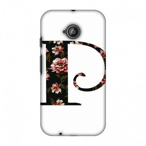Floral Fill - P Slim Hard Shell Case For Motorola Moto E 2nd Gen