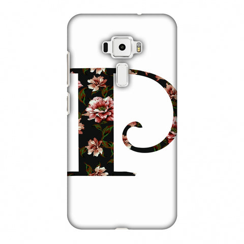 Floral Fill - P Slim Hard Shell Case For Asus Zenfone 3 ZE520KL