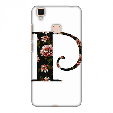 Floral Fill - P Slim Hard Shell Case For Vivo V3 Max