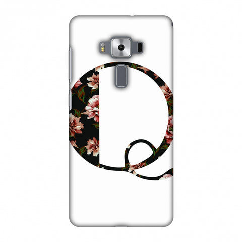 Floral Fill - Q Slim Hard Shell Case For Asus Zenfone 3 Deluxe ZS570KL