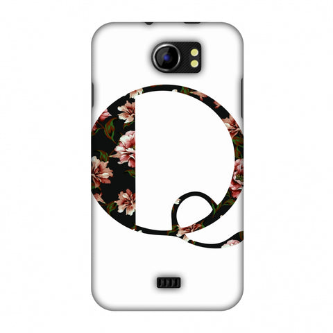 Floral Fill - Q Slim Hard Shell Case For Micromax Canvas 2 A110