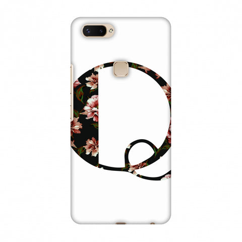 Floral Fill - Q Slim Hard Shell Case For Vivo X20 Plus